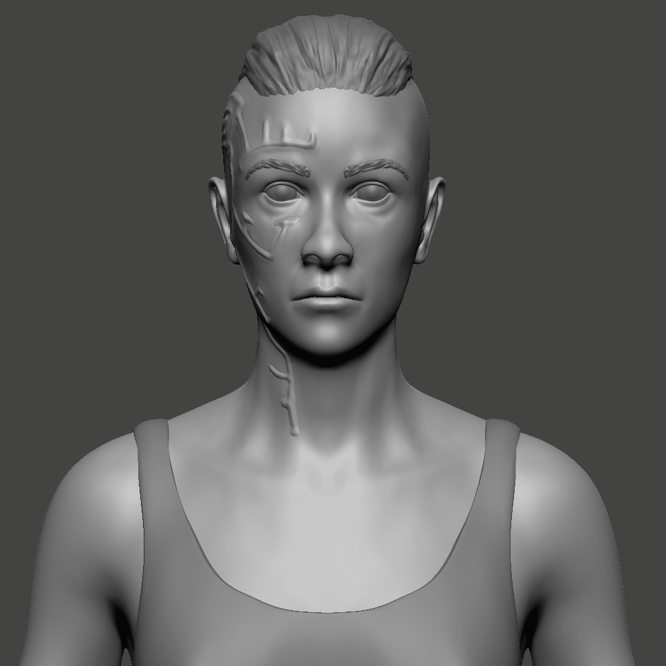 Student Work for ZBrush Fundamentals in Concepting in ZBrush