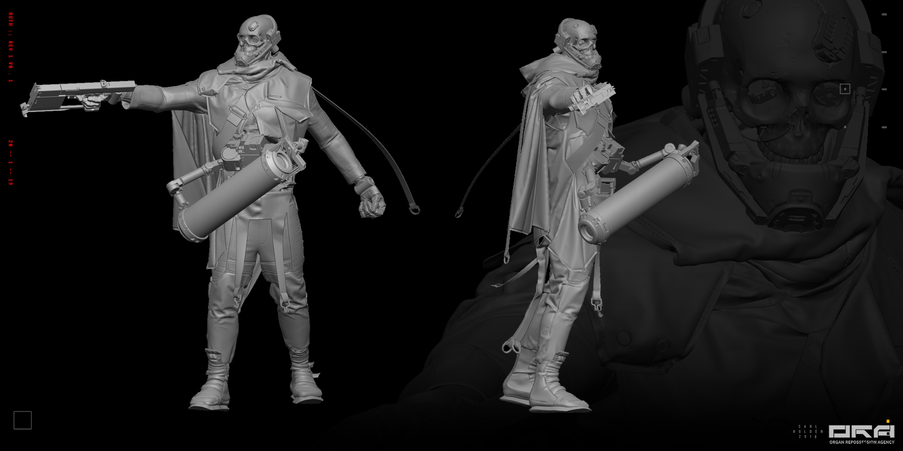 Student Work for Advanced ZBrush in Concepting in ZBrush