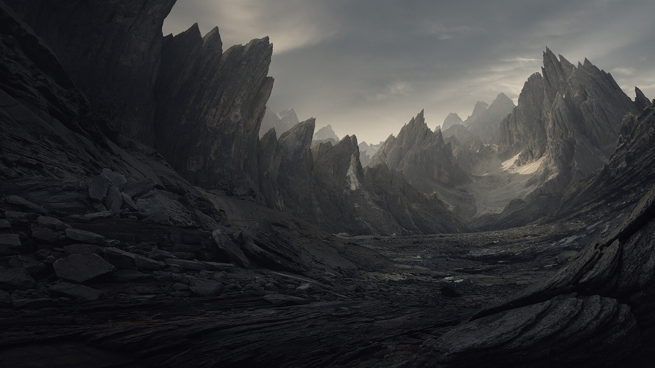 Intro to matte painting learn squared for Matte painting