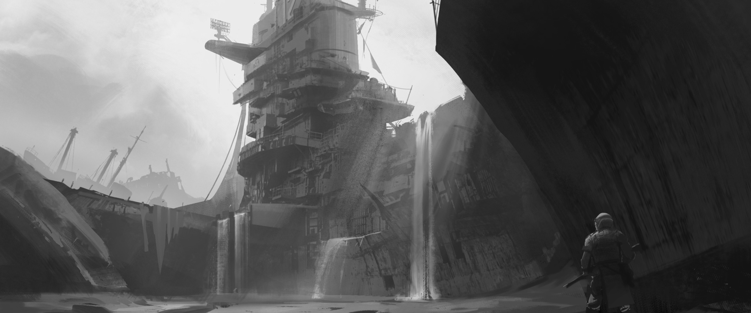 Painting In Greyscale Learn Squared
